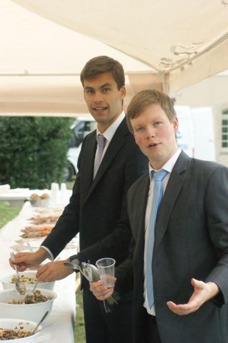 séminaristes buffet