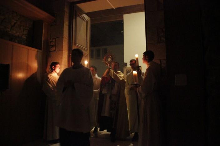 prière procession