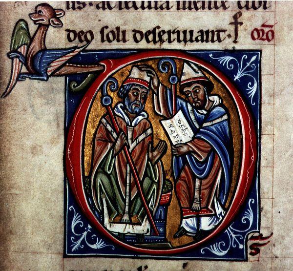 Ordination episcopale de saint Martin