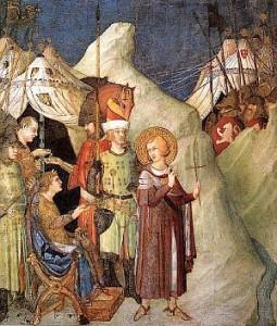 saint martin renonce aux armes