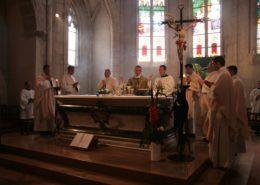 lavement des pieds eucharistie