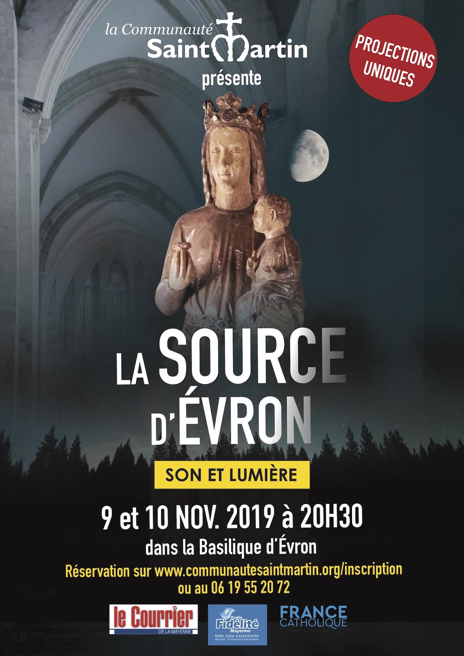 spectacle son et lumière novembre 2019